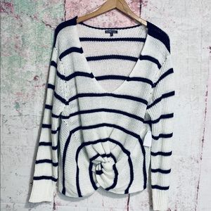 Charlotte Russe Knot Sweater